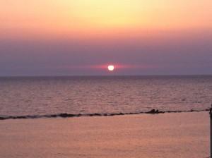 Sonnenuntergang Tel Aviv Beach